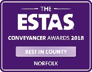 Conveyancer Awards 2018 - Best in Country Norfolk