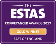Conveyancer Awards 2017 - Gold Winner East of England